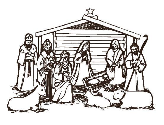 Nativity clip art images clipart