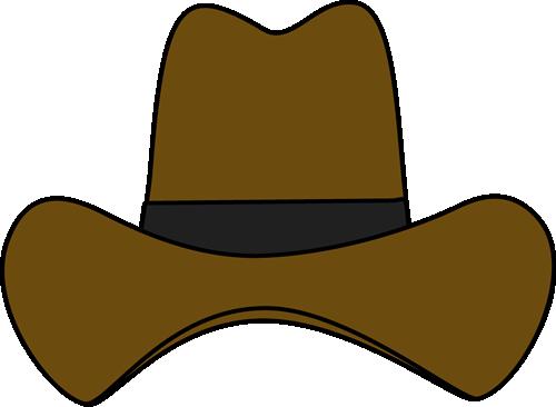 Simple cowboy hat clip art free clipart images