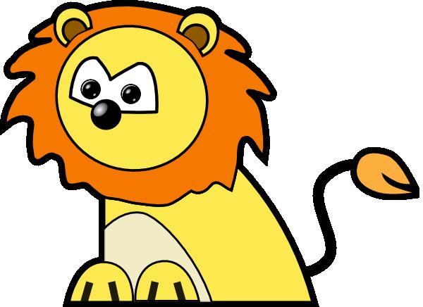 Baby lion lion clipart 2