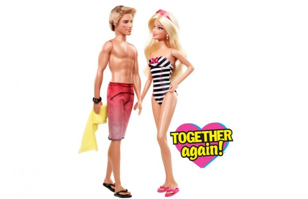 Barbie and ken clipart