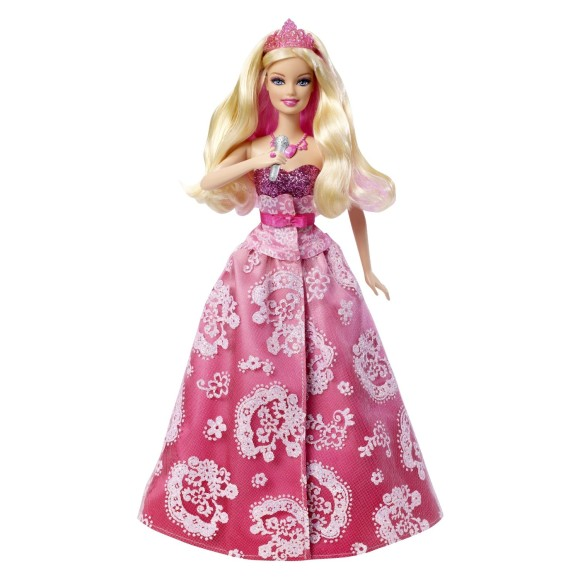 Barbie birthday clipart
