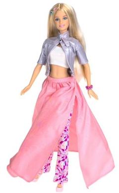 Barbie clip art 4