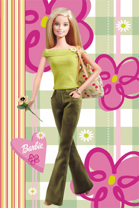 Barbie clipart 3