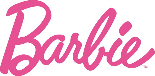 Barbie logo clipart
