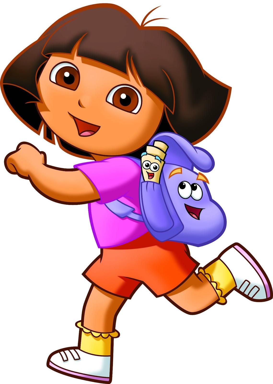 Dora diego clipart