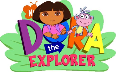 Dora nickjr clip art