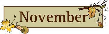 Free november clipart 2