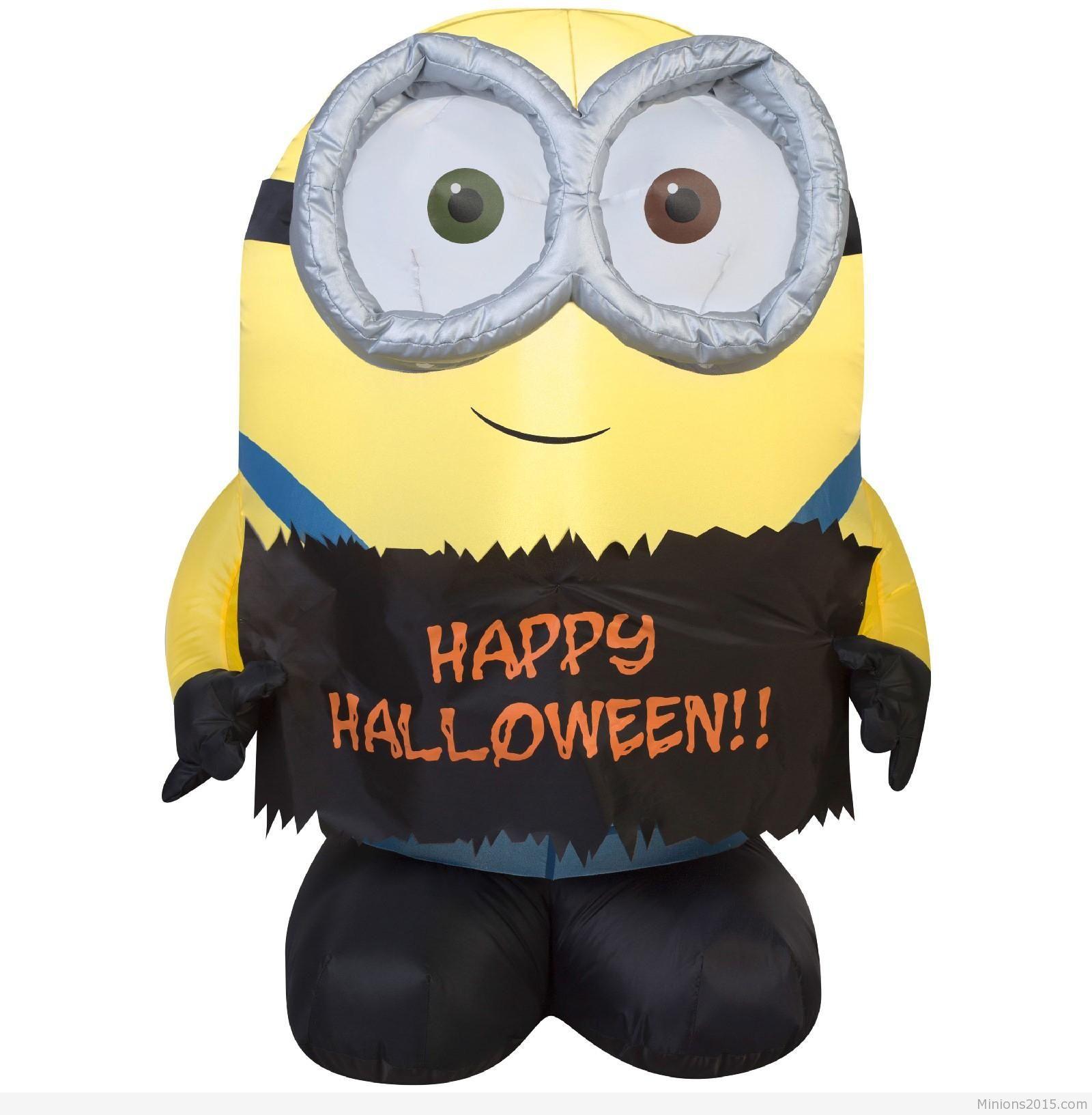 Halloween minions clip art