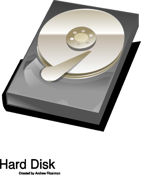 Hard disk clip art at vector clip art
