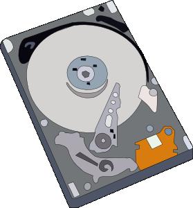 Hard disk harddisk clip art at vector clip art