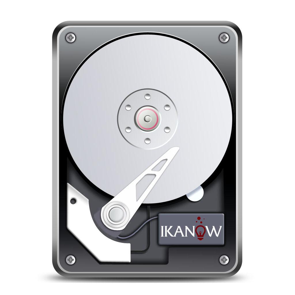 Hard disk logo clipart