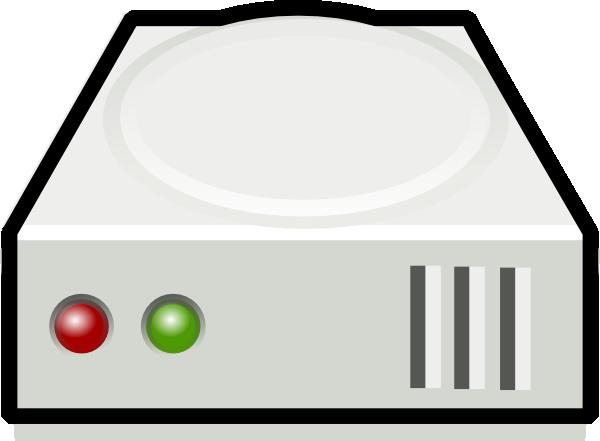 Icon hard disk clip art at vector clip art