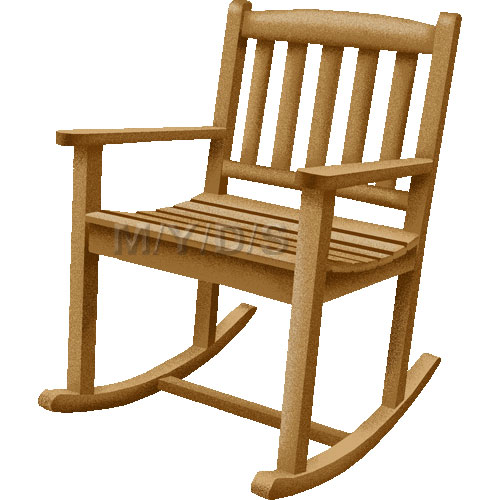 Rocking chair rocker clipart free clip art image #18026