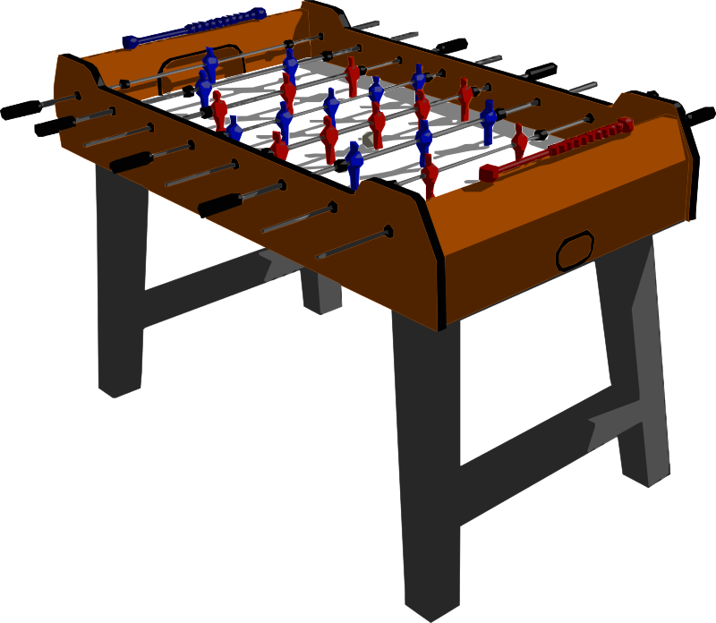 Table foosball clip art
