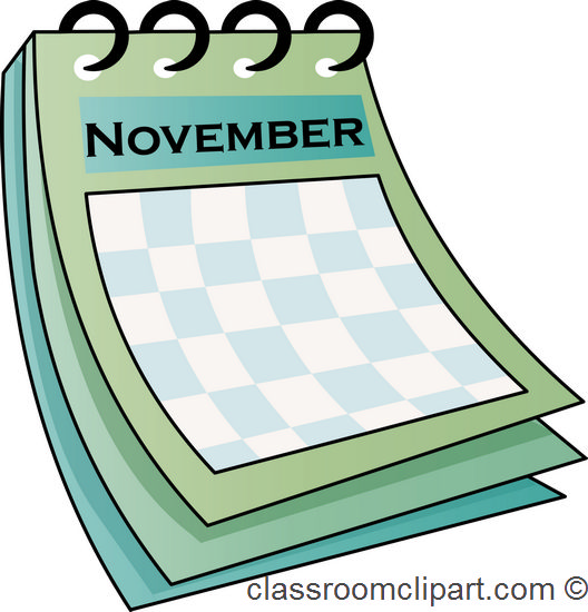 Top november classroom calendar images for clip art