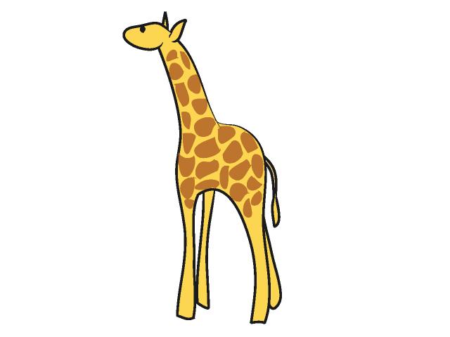 Baby giraffe clipart clipart
