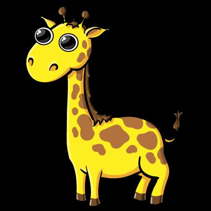 Baby giraffe giraffe clipart 6