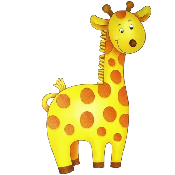 Baby Giraffe Clipart - Images, Illustrations, Photos