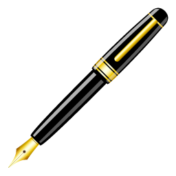 Fountain pen clipart free clipart images