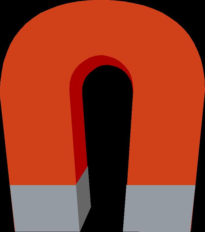 Horseshoe magnet vector clip art download free clipart