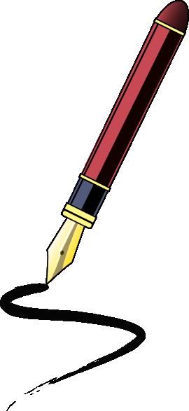 Ink pen clip art at vector clip art 2