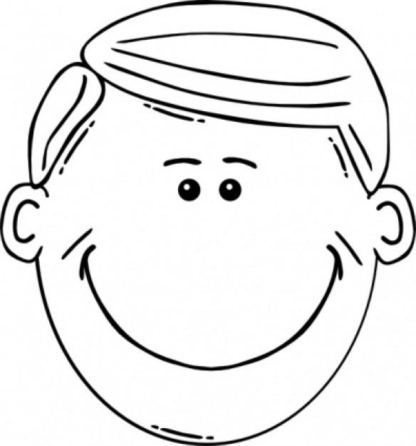Art face clipart