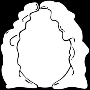 Blank face clip art at vector clip art