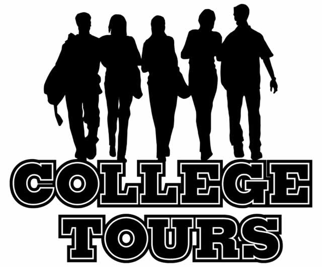 College visit clipart