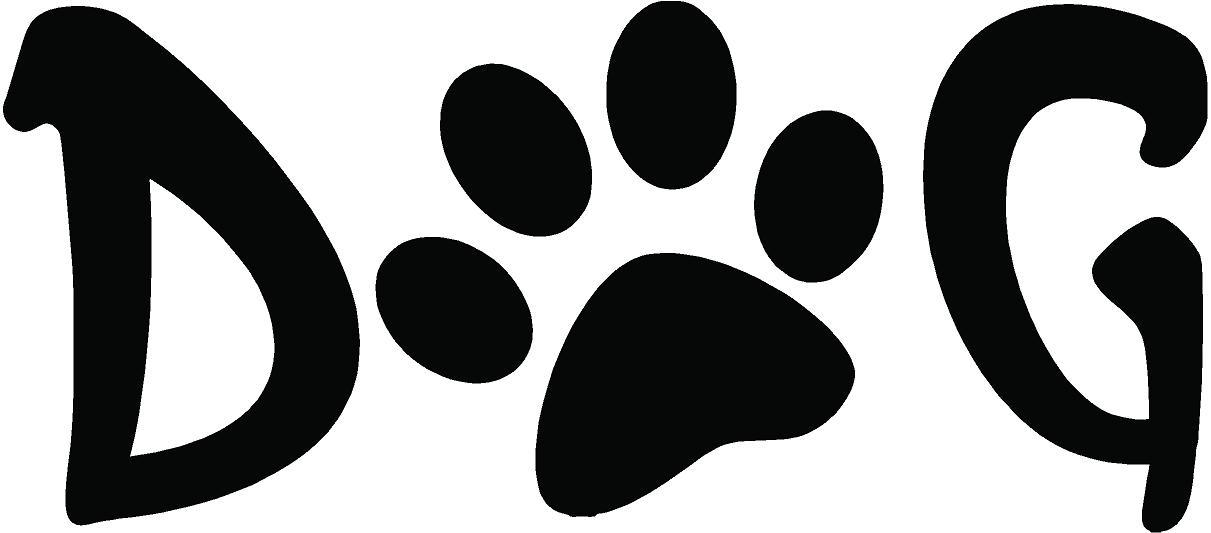 Dog paw print image clip art