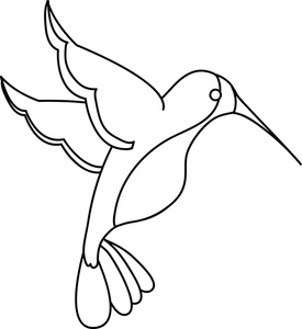 Free hummingbird clip art free clipart images