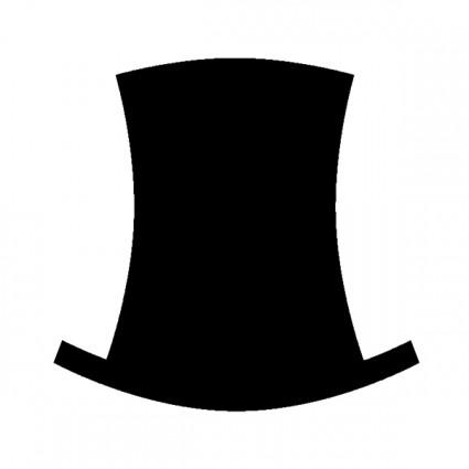 Free top hat clip art clipart