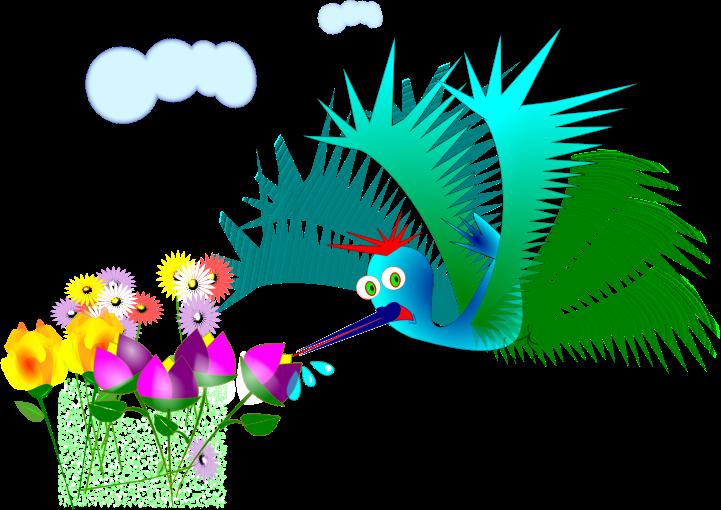 Hummingbird clip art  2