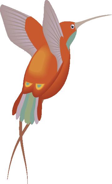 Hummingbird clip art  3