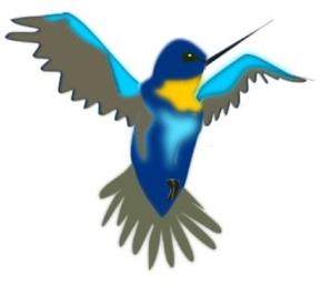 Hummingbird clip art vector clip art free