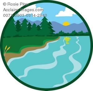 Lake clip art 2