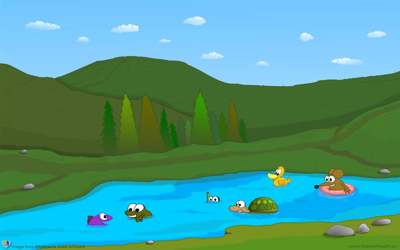 Lake clipart 5
