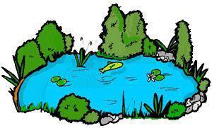 Lake wolf clip art