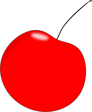 Red cherry clip art red cherry image