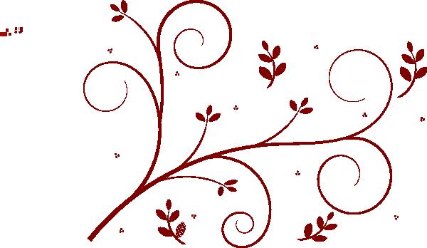 Rose vine border clip art free clipart images
