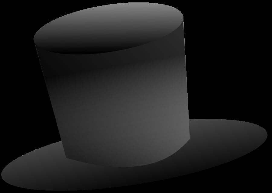 Top hat art clipart