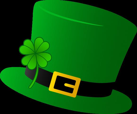 Top hat free st patrick clip art