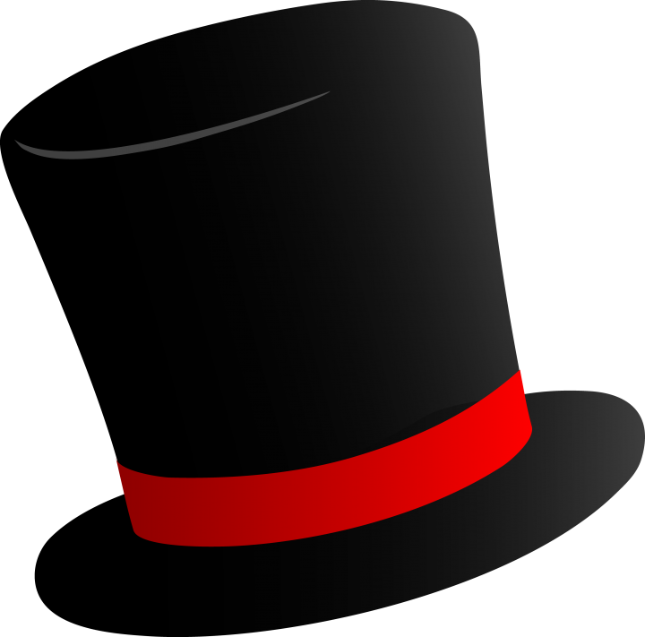 top hat hat clipart free download clipart animals clipart borders
