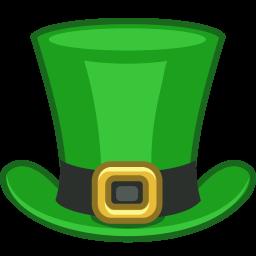 Top hat st patrick hat2 clip art