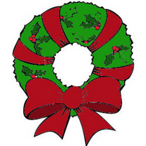 Wreath free color clipart picture of free clipart images