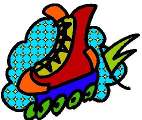 Clip art clip art skating 2