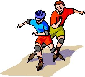 Clip art clip art skating