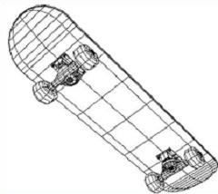 Free skateboarding clipart