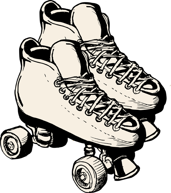 Gallery for clip art free roller skating