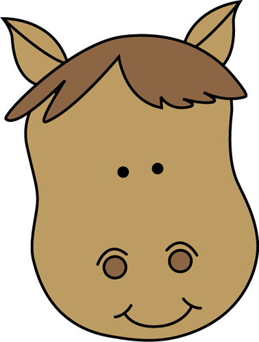 Horse head clip art horse head image