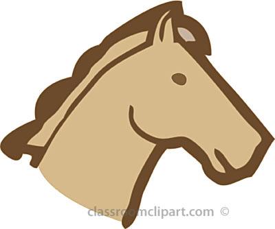 Horse head horse clip art border free clipart images